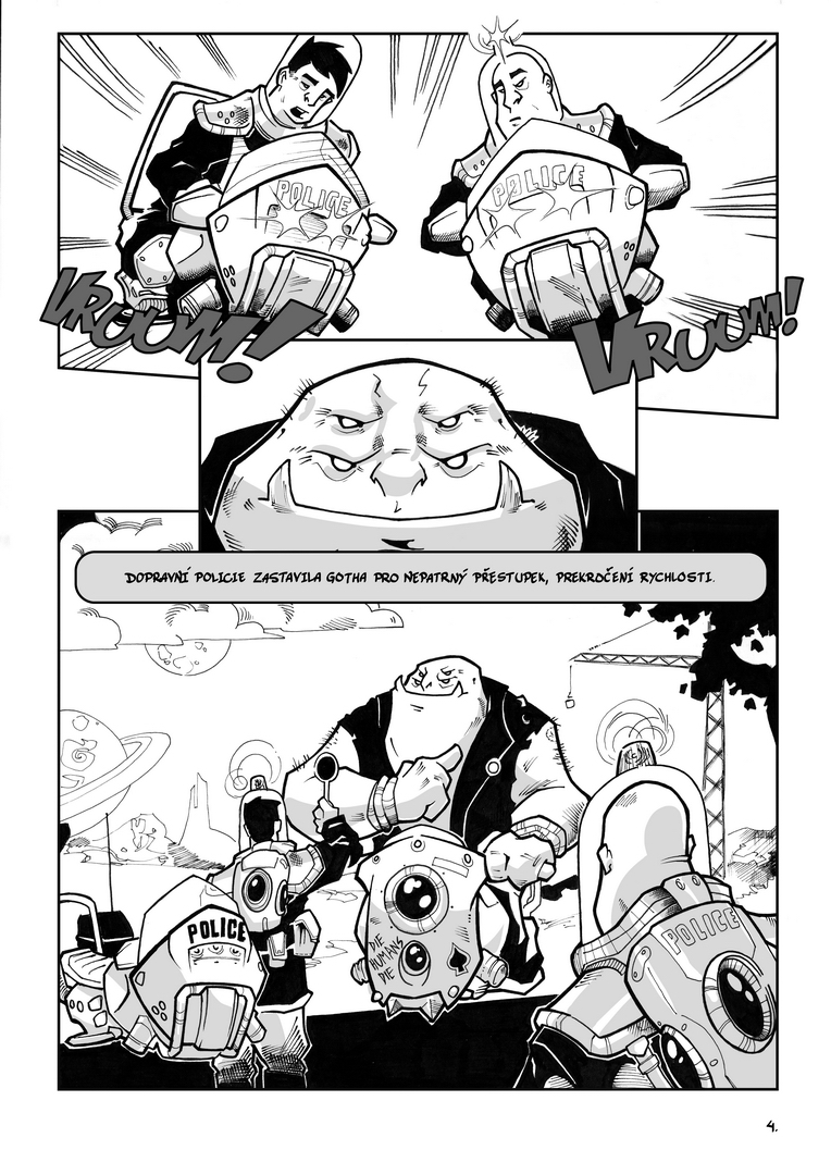 Komiks Zácpa - Dudek Kučera